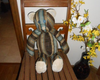 upholstered teddy bear