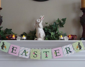Easter Banner - With Bunny Border