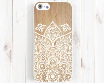 Ethnic Pattern iPhone Case, Printed Image False Wood Samsung Galaxy S3 S4 S5 Case, Samsung Note 3, iPhone 7 5C, iPhone 5S, iPhone 4S NP31