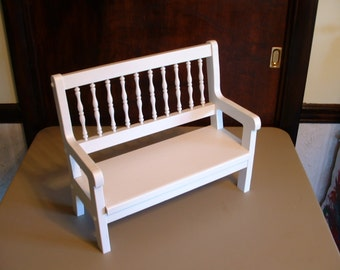 Doll Patio Bench