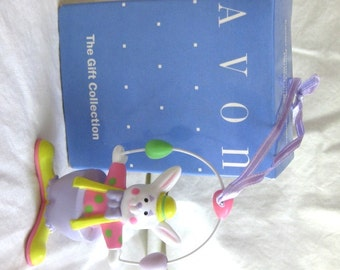 Ornament Easter Bunny Clown Perfect Juggler by Avon