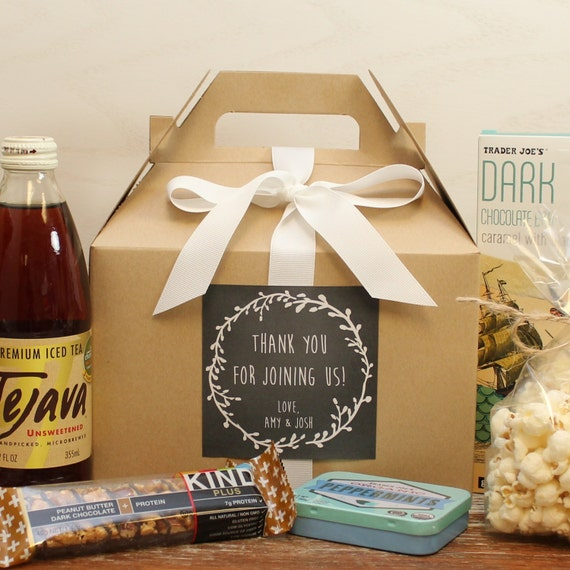 ... Box // Wedding Welcome Bag // Out of Town Guest Bag // Wedding Favor
