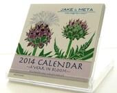 2014 Mini Desktop Calendar