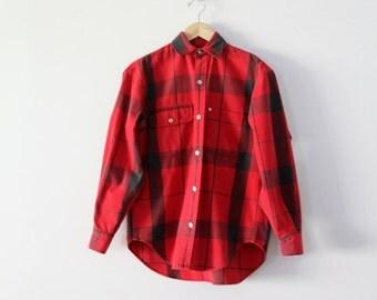 1980s Ralph Lauren plaid shirt
