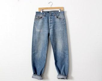 vintage 501xx Levi's denim jeans, waist 34