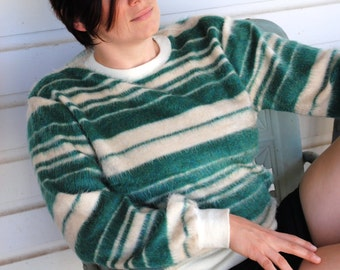 Furry Hombre Stripe Sweatshirt