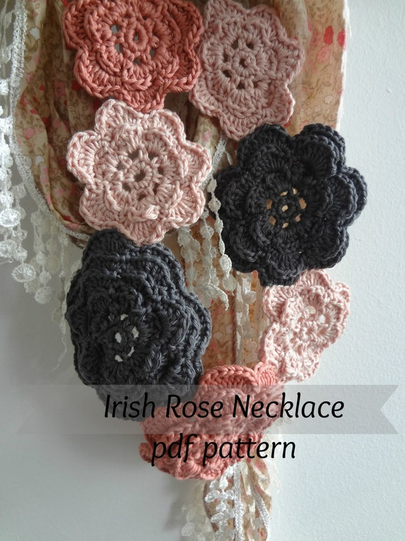 Irish Rose Necklace Pattern
