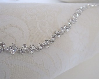 Wedding Headpiece, Rhinestone Headband, Bridal Headband