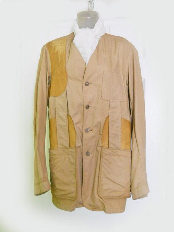 s vintage safari jacket by masland by
