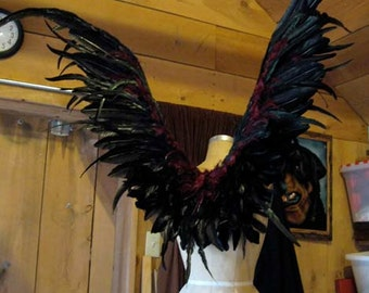 Wearable Wings  Maleficent costume Cosplay Fairy bird