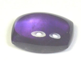 AA 14.20ct 18.2mm Amethyst sugar loaf cabochon from Uruguay Supreme color Ref: 445042