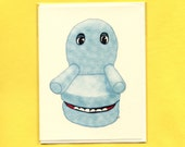 CHAIRY From PEEWEE'S Playhouse - Funny Greeting Card - Pee-wee Herman - Pee-wee Herman Card - Chairy - Pee Wee's Playhouse - PeeWee Herman