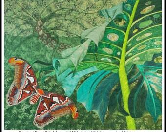 Custom Art Quilt by Jane L Kakaley
