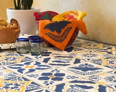 Mexican Tile Talavera Furniture Stencils - Painting DIY Faux Tiles on Tables, Floor, Walls