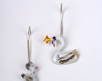 The ugly duckling- earrings