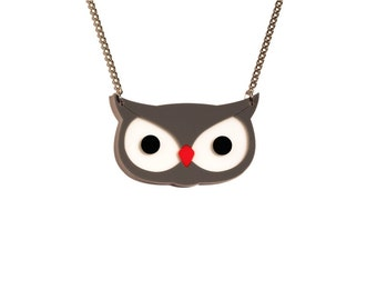 Oh, Mr. OWL Lucky Charm necklace - Oh, Tiger COMPLEXITY serie