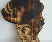 Doctor Who-Madame Vastra Pyroportrait Carving