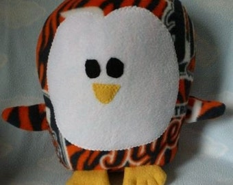 Plush Detroit Tigers Penguin Pillow Pal, Baby Safe, Machine Wash and Dry