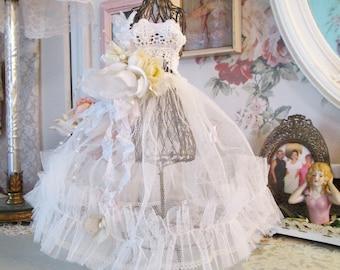 wedding bridal shower decoration miniature dress form