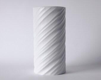 Mid Century Spiral Vase - Hutschenreuther Gugel 60s - Rare