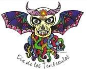 Dia de los Tentaculos - The Tentacle Collection - Original Art postcards