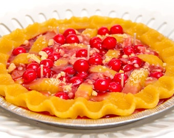 Cherry  Pie Candle – 9 Inches