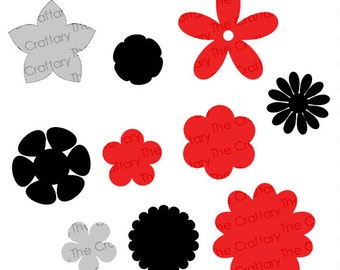 Flower Mix Collection SVG Files