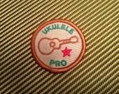 Ukulele Merit Badge - Embroidered