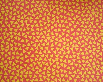 George Sowden original TRIANGOLO Fabric for Memphis ca. 1983
