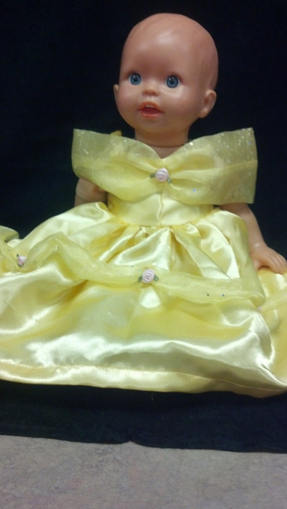 Belle Dress Bitty Baby Doll