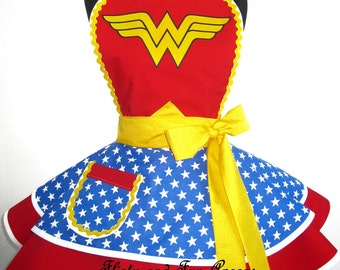 Wonder Woman Costume Apron
