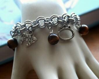 Cat Lover Charm Bracelet