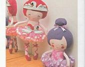 "Simplicity pattern 1341 Doll Ballerina 22"""