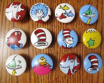 Dr. Seuss dresser knobs