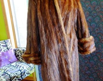 Vintage fur coat jacket wedding wrap 1940s