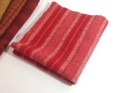 Wool Fabric for Rug Hooking and Appique, Fat Eighth, Love That Red, J798