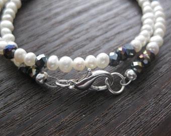 star of David bracelet, tree of life bracelet, swarovski crystals, pearl bracelet, choker necklace, wrap bracelet, love is patient bracelet