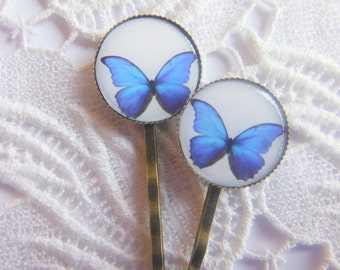 Ulysses Butterfly Hair Clips Bobby Pins