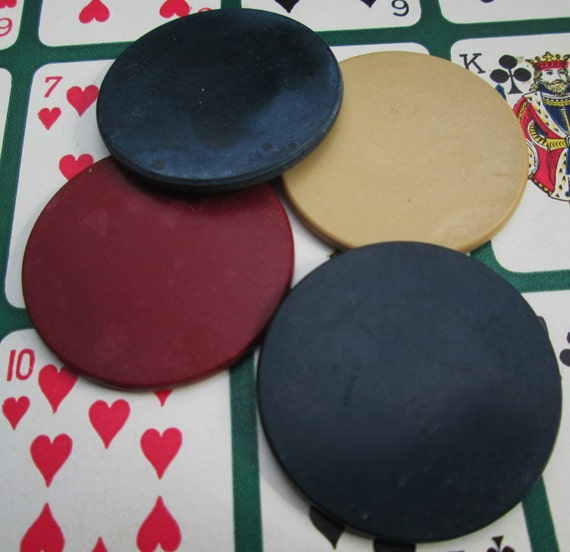 how to make poker chips out of paper