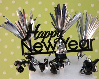 Happy New Year Cake Topper Kit