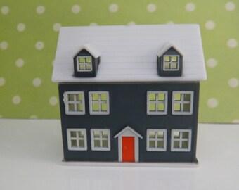 Retro Dream House Cake Topper /