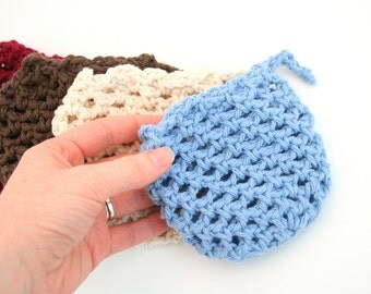 PDF DIGITAL PATTERN:Crochet Soap Saver Pattern,Crochet Scrubbie Pattern,Crochet Washcloth Pattern,Soap Saver Bag,Crochet Washcloth,Exfoliate