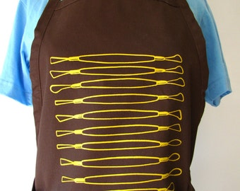 Trimming Tools Apron for Potters!