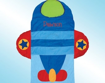 Nap Mat - Personalized and Embroidered - AIRPLANE