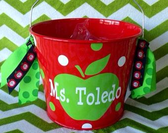 5 quart metal teacher bucket