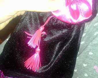 Tarot bags with tassels