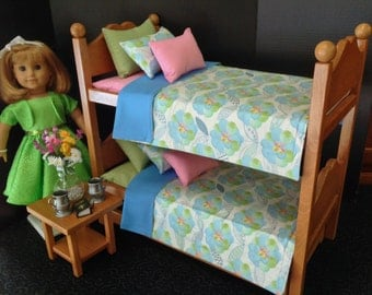 American Girl Doll: Furniture Bunk Beds/bedding