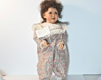 VIRGINIA ERLICH TURNER doll Tori. handmade doll . Large doll . Collectable Doll cs