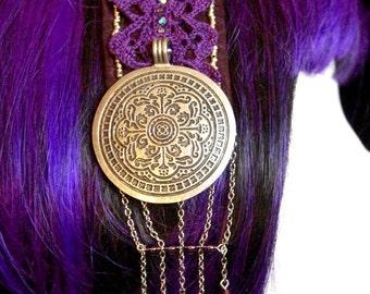 Crystals & Lace Headband