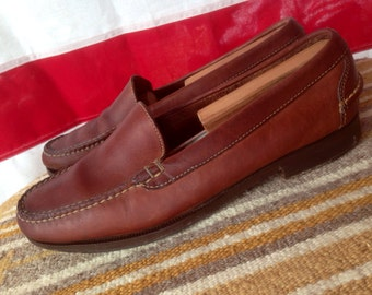 Vintage Cole Haan leather loafers M10